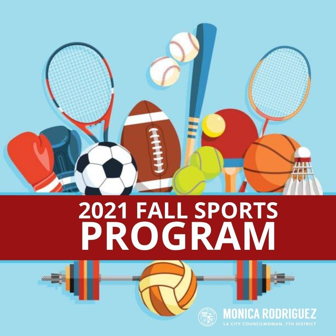 2021 Fall Sports Program Registration