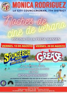 At Hansen Dam for the Movie Grease