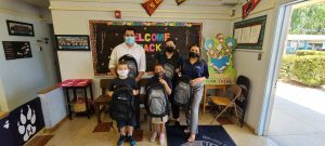 Happy to Donate 50 Backpacks Filled with School Supplies