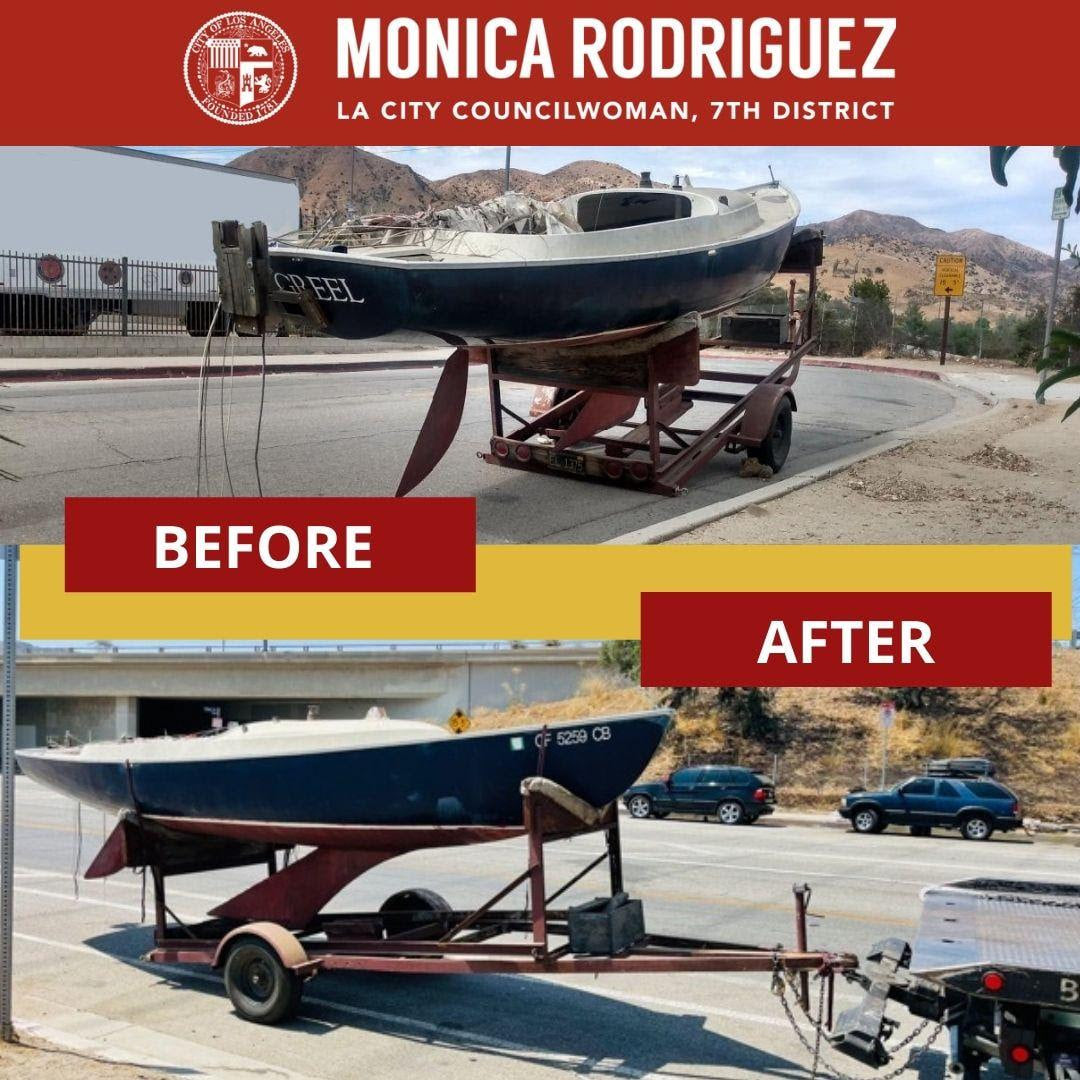 Abandoned Boat Removed within 24 Hours