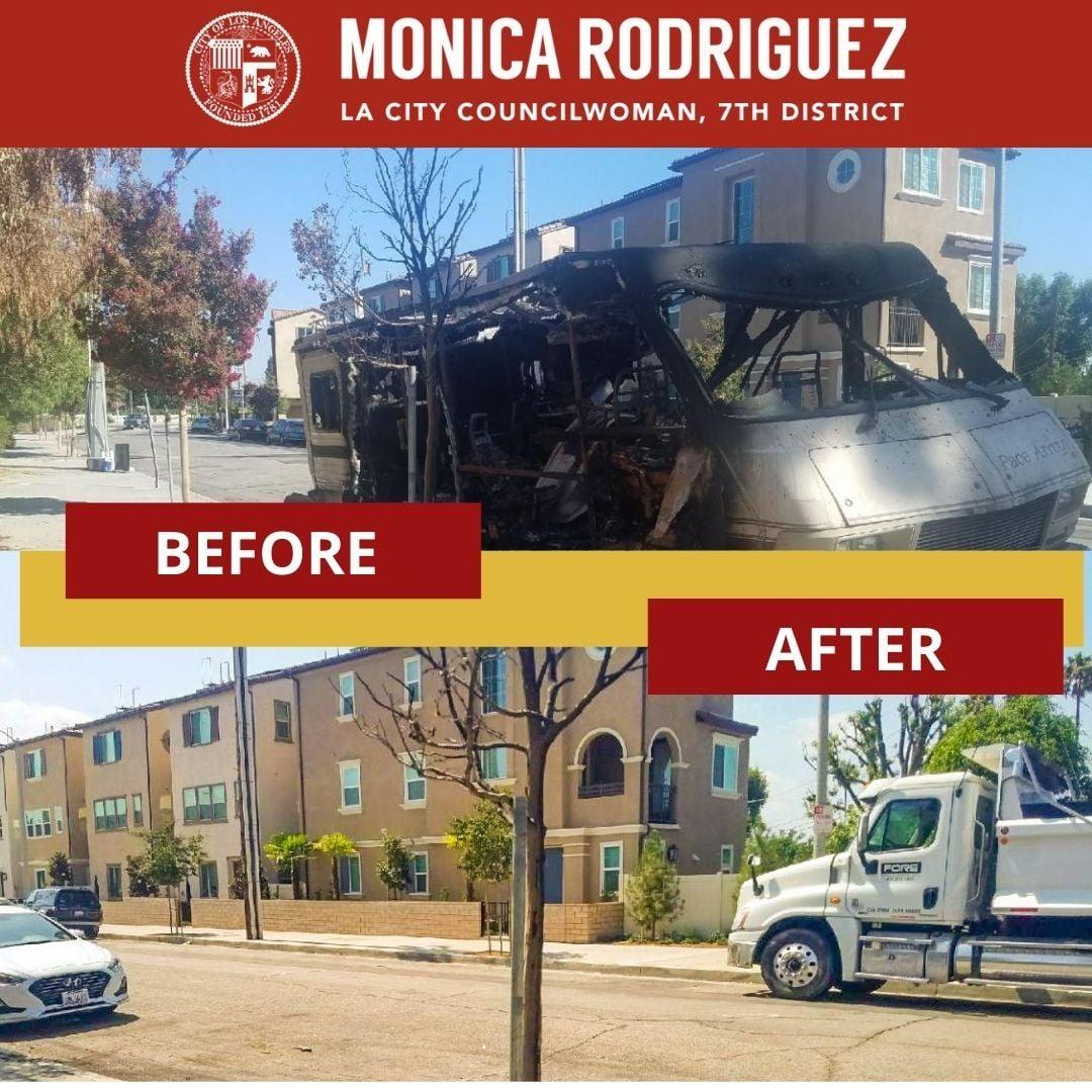 Extinguished Motorized Recreational Vehicle