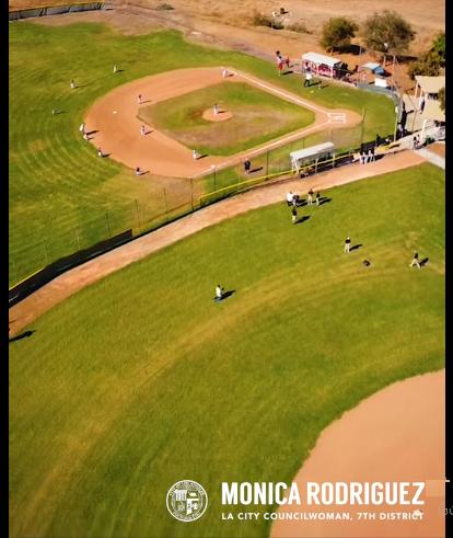 Hansen Dam Baseball Fields