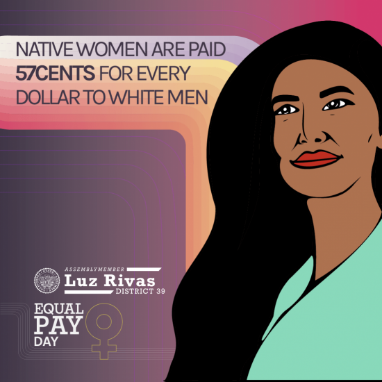 Native Womens Equal Pay Day