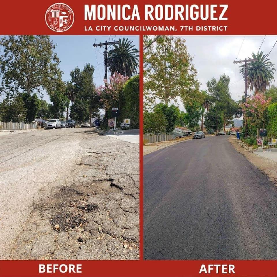 Resurfacing of Franlie Drive