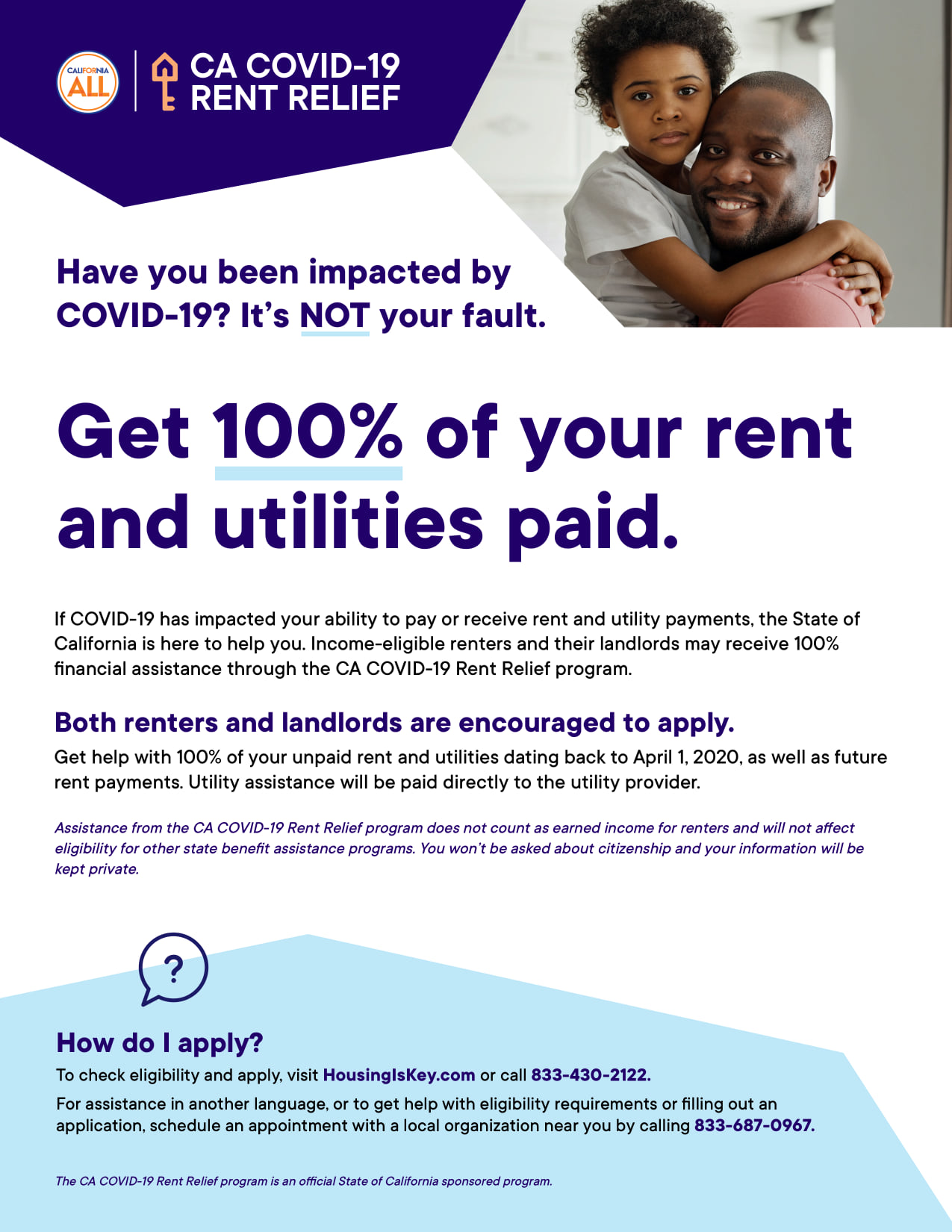 The CA COVID-19 Rent Relief Program