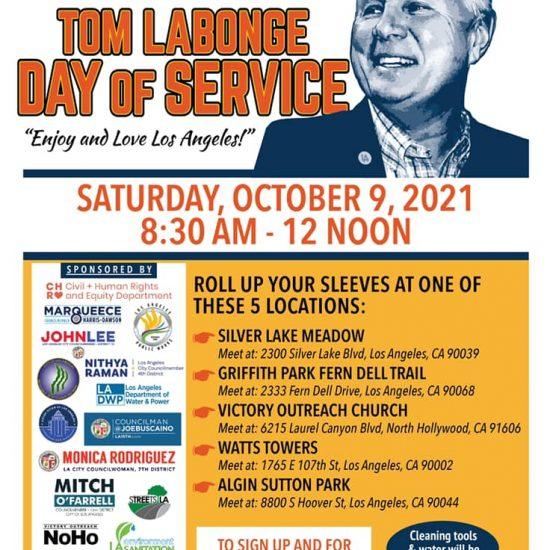 City-Wide Volunteer Cleanup at the Tom Labonge Day