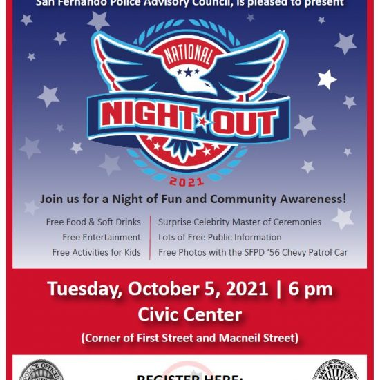 San Fernando's Annual National Night Out