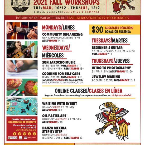 Weekly Cultural Arts Workshops